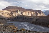 Spiti River — Stock Photo