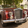 Stock Photo: Bentley S2 Coupe. brigg Market Place, Lincolnshire, UK.