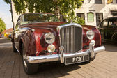Bentley S2 Coupe. brigg Market Place, Lincolnshire, UK. — Stock Photo