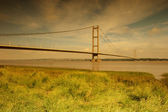 Morning Light,  Humber Bridge. — Stock Photo