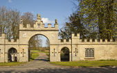 The Gateway Rebourne Hall. — Stock Photo