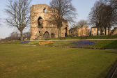 Knaresborough Castle, Knaresbororgh, Nidderdale, North Yorkshire — Stock Photo