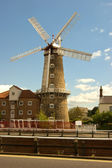 The Maude Foster windmill,Boston, Lincolnshire. — Stock Photo