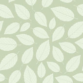 Leaf, seamless pattern — Stock Vector