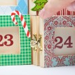 Advent Calendar — Stock Photo #46400405