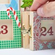 Advent Calendar — Stock Photo #46400419