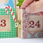 Advent Calendar — Stock Photo #46400423