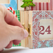 Advent Calendar — Stock Photo #46400425