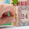Advent Calendar — Stock Photo #46400427