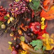 Autumn Wreaths — Stock Photo #46405157
