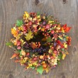 Autumn Wreaths — Stock Photo #46405189