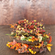 Autumn Wreaths — Stock Photo #46405227