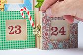 Calendario dell'avvento — Foto Stock