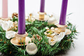 Advent krans — Stockfoto