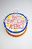 4th of July Cake — Stock Photo
