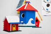 Bird feeders — Stock Photo