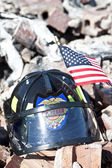 Burnt Rubble Memorial — Stock Photo