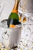 Champagne Bucket — Stock Photo