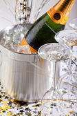 Champagne Bucket — Stock Photo
