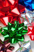 Christmas Bows — Stock Photo