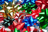 Christmas bows — Stockfoto
