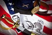 Civil War Items Union — Stock Photo