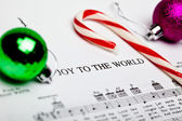 Classic Christmas Carol — Stock Photo