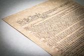 Konstitutionen — Stockfoto