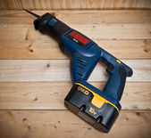Cordless Reciprocating Saw — ストック写真
