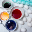 Easter Egg Dying — Stock Photo #46629423