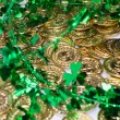 Gold Coins & Shamrocks — Stock Photo #46629635