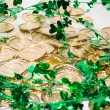 Gold Coins & Shamrocks — Stock Photo #46629663