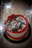 Graduation Cake — Stock Photo