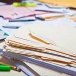 Messy Desk — Stock Photo #46662233