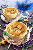 Mardi Gras Food — Stock Photo
