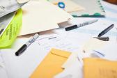 Messy Desk — Stock Photo