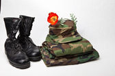 Military Uniform — Stock Photo