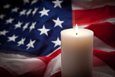 Candle Vigil — Stock Photo
