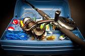 As artes de pesca — Fotografia Stock