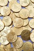 Hanukah Gelt — Stock Photo