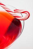 Holiday Martini — Stock Photo