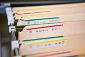 Hospital Records — Stock Photo