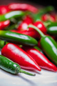Hot Peppers — Stockfoto