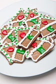 Gingerbread House Cookies — Foto de Stock