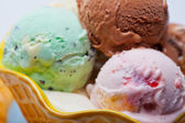 Ice Cream Flavors — Stock Photo