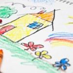 Kids Drawing — Stock Photo #48109111