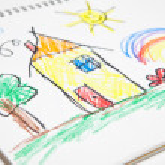 Kids Drawing — Stock Photo #48109117