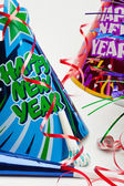New Years Party Items — Stock Photo