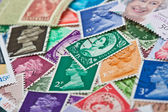 Queen Elizabeth II Stamps — Foto de Stock