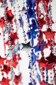 Collar rojo blanco y azul — Foto de Stock